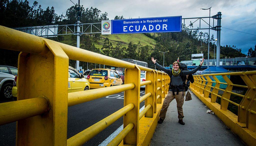 Ende Juli passiere ich die Grenze nach Ecuador.